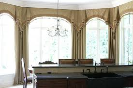 kitchen bay window curtain ideas bay window curtains ideas pictures snaphaven com