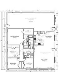 Shop Floor Plans Barndominium Floor Plans Pole Barn House Plans And Metal Barn