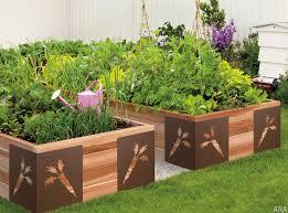 vegetable garden box ideas home outdoor decoration