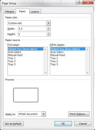 how to design a business card in microsoft word