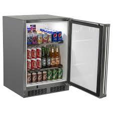 mini bar fridge glass door undercounter refrigerators from marvel refrigeration