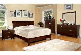 Cherry Wood Bedroom Sets Queen Furniture Of America Bedroom Set Midland Collection Brown Cherry