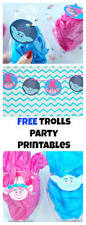 trolls party printables val event gal