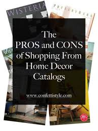 home decor shopping catalogs catalog shopping for home decor the pros and cons confettistyle