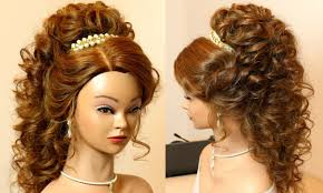 prom hairstyles for long curly hair graduation hairstylesfor long