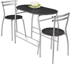 Buy HOME Vegas Dining Table   Chairs Black At Argoscouk - Argos kitchen tables