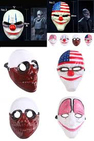 visit to buy halloween party mask mask pvc scary clown mask