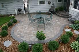 Concrete Patio Bricks Outdoor Concrete Patio Ideas Next To Brick Images Brick Paver