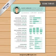 Graphics Design Resume Sample by Resume Graphic Designer Template Vector Free Download