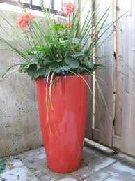 tall outdoor planter a mes yeux by tracy fisher