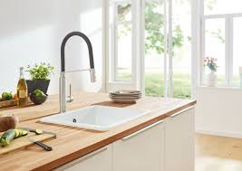 Single Handle Kitchen Faucet Grohe Concetto Semi Pro Single Handle Kitchen Faucet U0026 Reviews