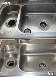how to clean a kitchen sink make it shine how to clean your stainless steel sink paper towels