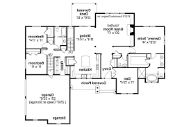 Find House Floor Plans by Split Bedroom Ranch House Plans