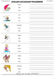 free spelling worksheet maker printable reading worksheet
