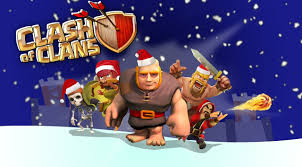 clash of clans wallpaper 23 clash of clans christmas wallpaper attackia clash of clans