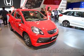 honda brio small car for honda mulling over india specific small hatchback