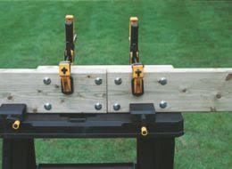how to build a basic ground level deck ideas u0026 advice diy at b u0026q