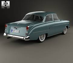 opel kapitan interior opel kapitan 1956 3d model hum3d