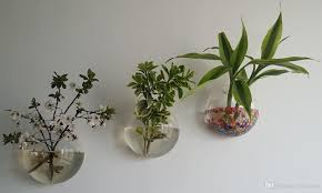 10cm 12cm 15cm wall glass planter vase wall bubble terrariums mini