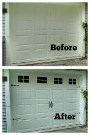 fake garage door windows in modern home interior design ideas p78