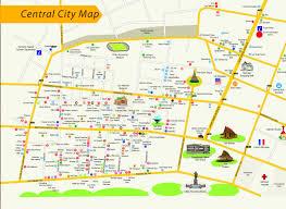 Map Of Laos Vientiane Capital
