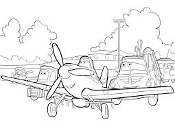 coloring pages gorgeous planes coloring disneys pages sheet