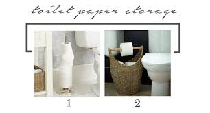 Bathroom Toilet Paper Storage Reader Dilemma Storage For A Small Bathroom