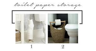 Bathroom Tissue Storage Reader Dilemma Storage For A Small Bathroom