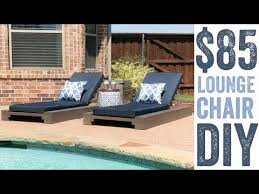 Diy Chaise Lounge Diy Outdoor Lounge Chair