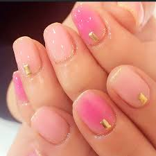 stunning round pink gel nails ideas for women nail art
