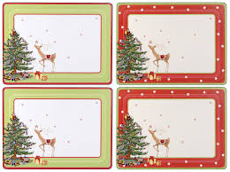 spode christmas jubilee placemats set of 4 spode uk