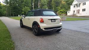 2009 r57 convertible s pepper white w 55k cosmetic damage