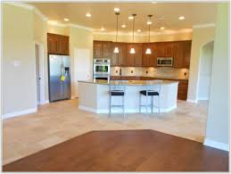 wood or tile floors in kitchen tiles home decorating ideas