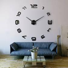 grande horloge design xxld grande horloge murale xxl cm miroir