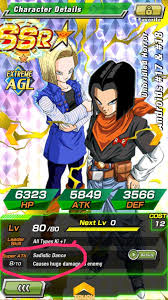 all androids dokkan battle lr androids how to get how to fully dokkan awaken