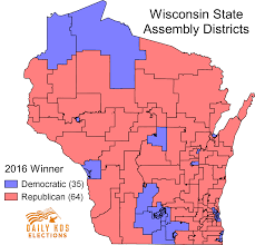 Wisconsin Maps by Huge Court Strikes Down Wisconsin Gop U0027s Assembly Map As