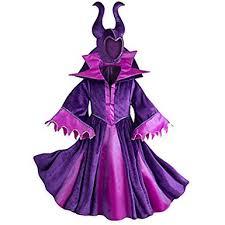 Halloween Costume Maleficent Amazon Disney Store Maleficent Halloween Costume Girls Mal