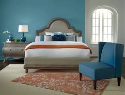orange and blue bedroom bedroom orange oversized chair navy blue accent chair lime green