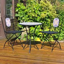 Jtf Outdoor Christmas Decorations by Kingfisher Mosaic Bistro Set Jtf