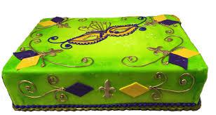 mardi gra cake mardi gras cake 1 with fondant mask and fleur de lis three