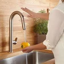 ceramic no touch kitchen faucet beale pull kitchen faucet with selectronic free