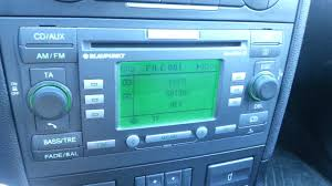 ford mondeo mk3 radio blaupunkt travelpilot ex youtube