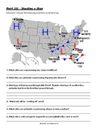 read a weather map weather earth science and