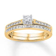 cheap bridal sets 15 collection of yellow gold wedding band sets