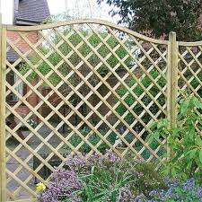 Metal Garden Trellis Uk Regal Omega Top Diamond Trellis U003e Garden Panel Tate Fencing