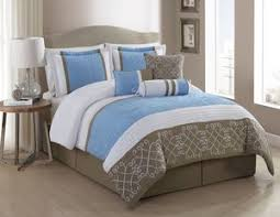 Blue And White Comforters King Bedding Ensembles