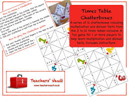 help learning times tables times tables chatterboxes by helenrachelcrossley teaching