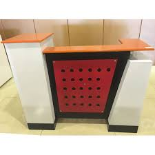 Used Salon Reception Desk Reception Desks For Nail Hair And Spa Salons