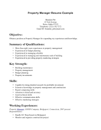 construction project manager sample resume resume resume property manager printable of resume property manager large size