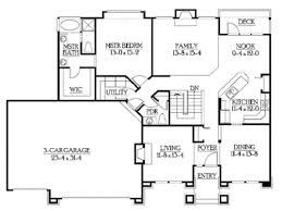 builder house plans rambler floor plans walkout basement by builderhouseplans